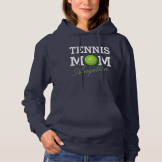 Tennis Mom Personalized Name Hoodie
