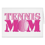 Tennis Mom Pink Cards