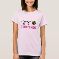 Tennis mom t-shirt - Gift idea for Mothers Day
