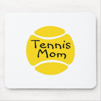 Tennis Mom Tennis Ball Mouse Pad