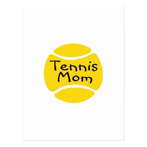 Tennis Mom Tennis Ball Postcard