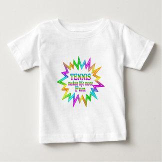 Tennis More Fun Baby T-Shirt