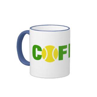 Tennis Mug for coffee addicts