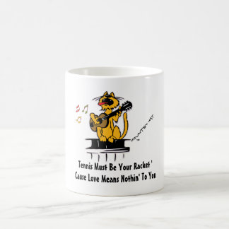 Tennis Must Be Your Racket 'Cause Love Means Coffee Mug