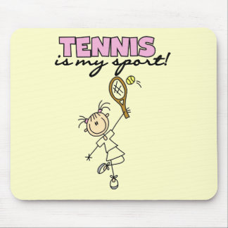 Tennis My Sport Tshirts and Gifts Mouse Mat