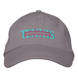 Tennis Name Drop Embroidered Baseball Hat