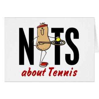 Tennis Nut 2 Card