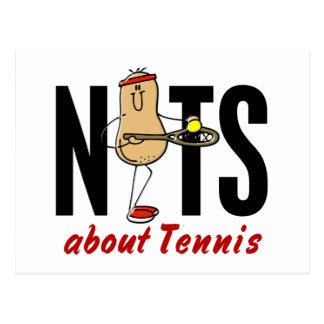 Tennis Nut 2 Postcard