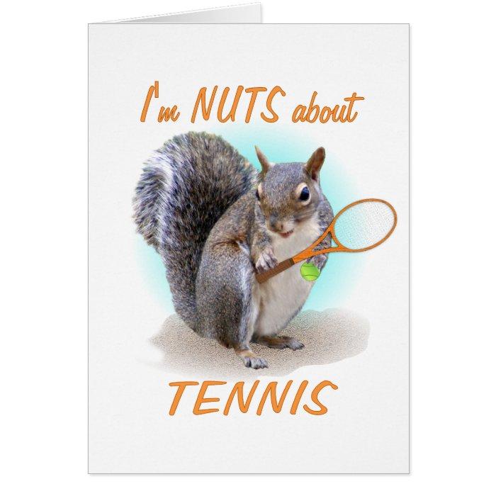 Tennis Nut Card