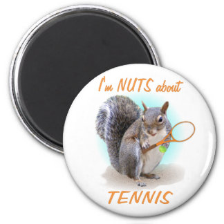 Tennis Nut Magnet