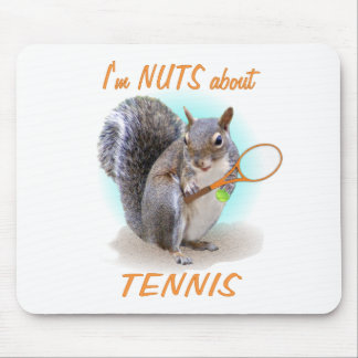 Tennis Nut Mouse Pad