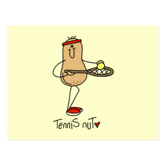 Tennis Nut T-shirts and GIfts Postcard
