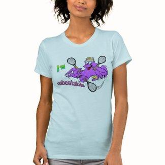 Tennis Octopus Womens Apparel T-shirt