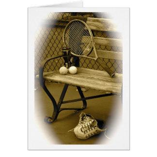 Tennis, Old School Card