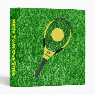Tennis On The Lawn Binders