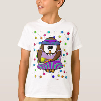 tennis-owl girl T-Shirt