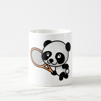 Tennis Panda Coffee Mug