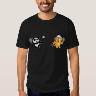 Tennis Panda & Lion T-Shirt