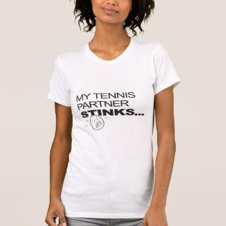 Tennis Partner Stinks/Beer T Shirts