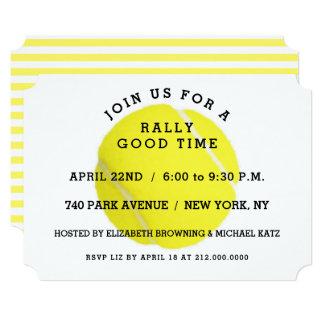 Tennis Party Invitation