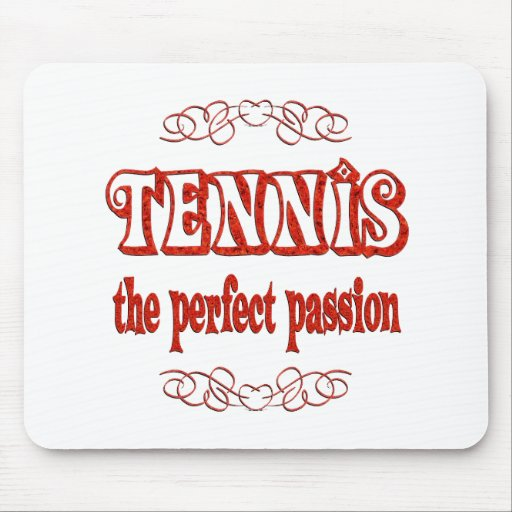 Tennis Passion Mouse Pad