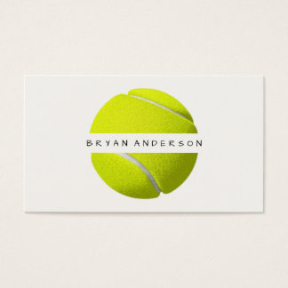 Tennis - Personal Business Card