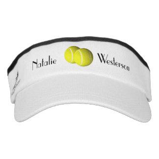 Tennis Personal Name Visor
