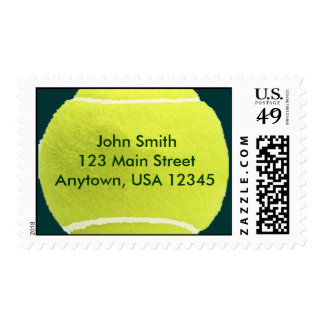 Tennis - Personalized Address Postage