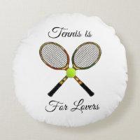 Tennis Pillow (Round)