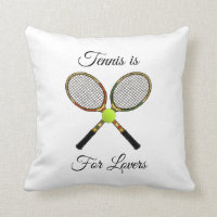 Tennis Pillow (Square)