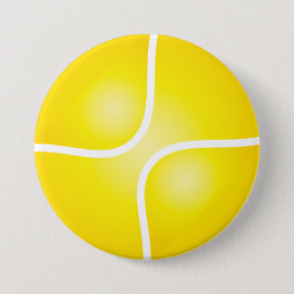 Tennis Pinback Button