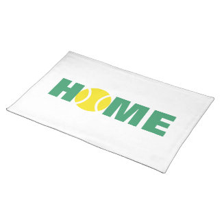 Tennis placemats for home