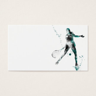 TENNIS PLAYER 3 - Business cards