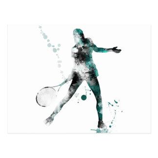 TENNIS PLAYER 3 - Postcards
