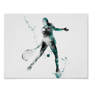 TENNIS PLAYER 3 - Poster