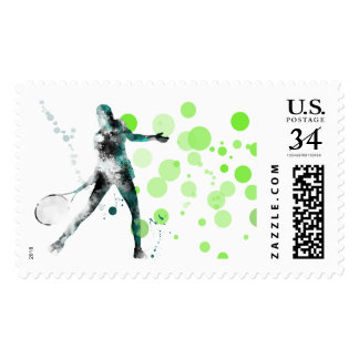 TENNIS PLAYER 3 - US Postage Stamps