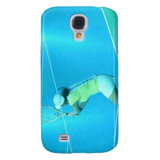 Tennis Player  Galaxy S4 Case