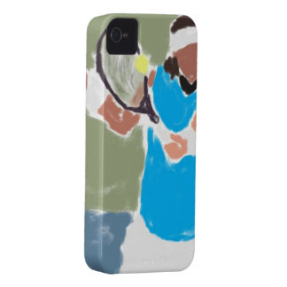 Tennis Player case Case-Mate iPhone 4 Cases