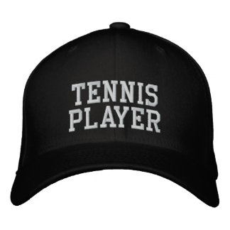 Tennis Player Embroidered Baseball Hat