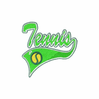 Tennis Player Embroidered Shirt