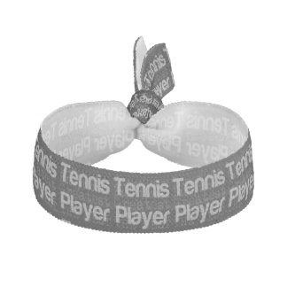 Tennis Player Extraordinaire Ribbon Hair Tie