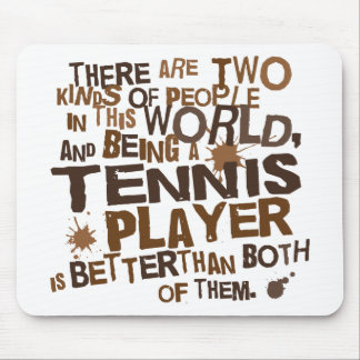 Tennis Player Gift Mouse Pad