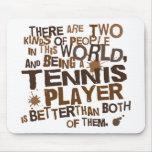 Tennis Player Gift Mousepad