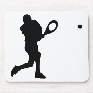 tennis player icon mouse pad