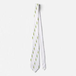 Tennis Player Icon Neck Tie