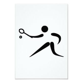 Tennis Player Invitation
