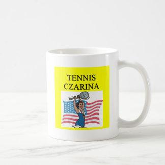 TENNIS player joke Classic White Coffee Mug