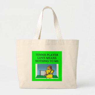 TENNIS player love Tote Bag