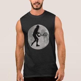 Tennis Player Moon Sleeveless Shirt