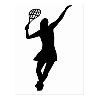 Tennis Player Postcard